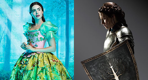MIRROR, MIRROR VS. THE HUNTSMAN: Battle of the Snow White Trailers