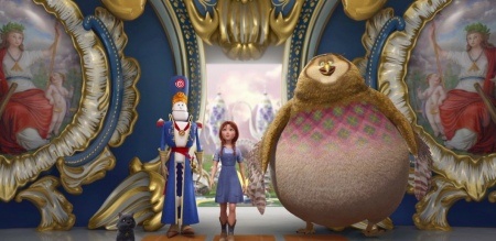 ET PHONE OZ: First Look at the CG Dorothy of Oz