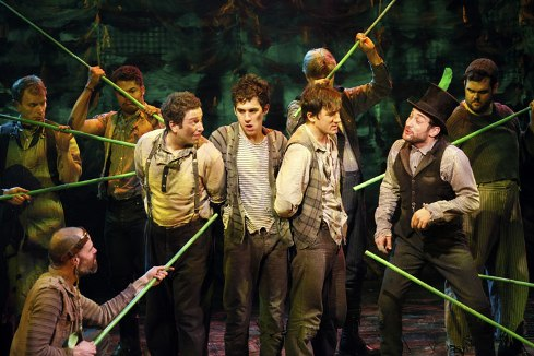 PETER & THE STARCATCHER: Now in Broadway Previews