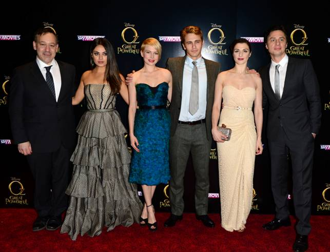 OZ THE GREAT AND POWERFUL: Moscow and NY Premieres Gallery
