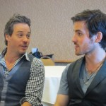 Michael Raymond-James and Colin O'Donoghue at Comic Con 2013 - TheFairyTaleSite.net