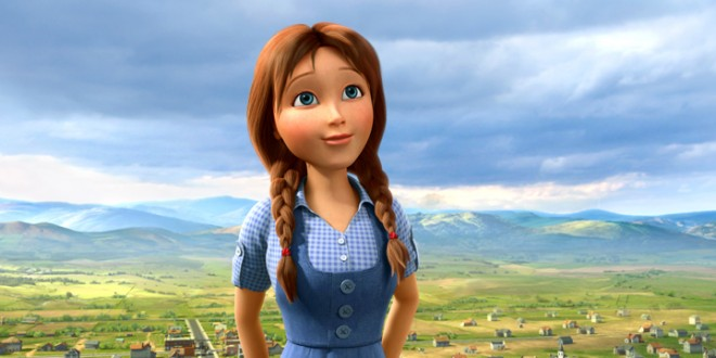 LEGENDS OF OZ: Lea Michele is Dorothy in New Animated Tale
