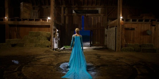 ONCE UPON A TIME Offers Up First Promo Clip of Elsa in Storybrooke [Video]