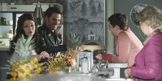 "ONCE UPON A TIME: Second Half of Season 4 Kicks Off with ""Darkness on the Edge of Town"""