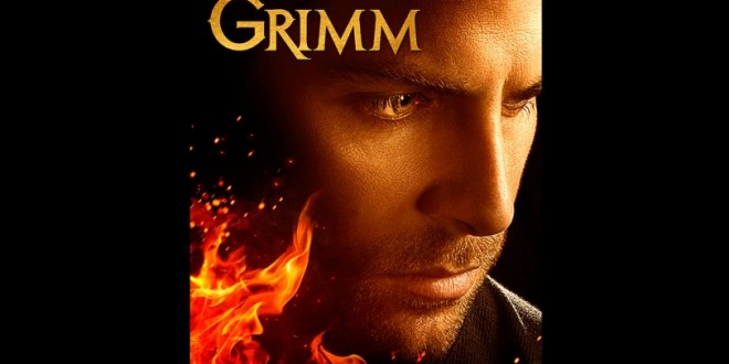 New Key Art Shows Nick on Fire in Season 5 of GRIMM