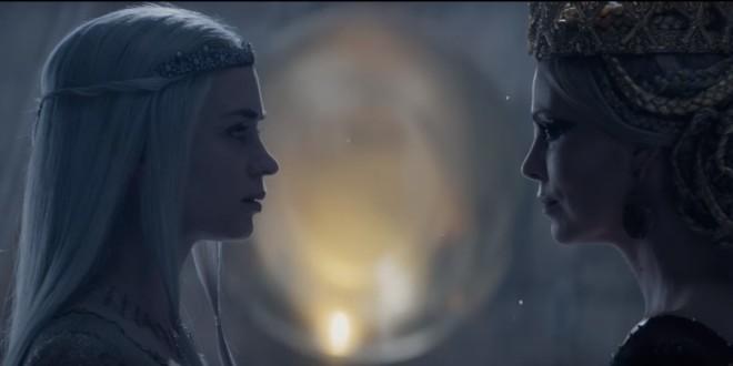 """[VIDEO] New """"Winter's War"""" Trailer: Queen Against Queen; Huntsman Against Evil"""