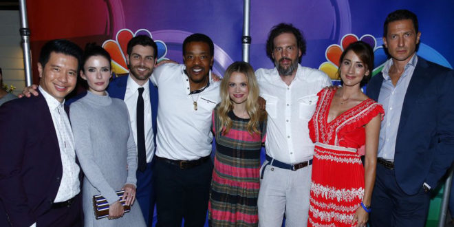 GRIMM: Cast Photos from Comic Con