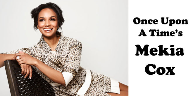 Exclusive: 11 Questions with OUAT's Mekia Cox