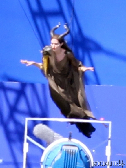 Maleficent Flying 10 The Fairy Tale Site